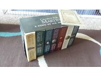 Game of thrones books and map