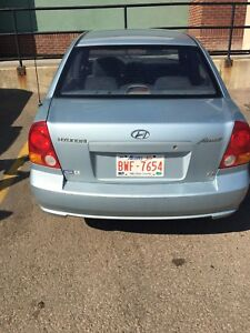 2003 Hyundai Accent. SOLID BEATER