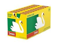 Swan Extra Slim Filter Tips, Slimline Filters & Slim Filter Tips *165 tips per pack loose