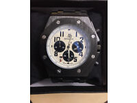Audemar Piguet (AP), Automatic, Chronograph Watch, Rubber Strap & Boxed, 1st Class Postage Available