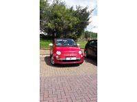 Lovely Red 14 Plate Fiat 500 Lounge 1.2 - £5200 o.v.n.o