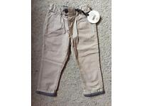 Brand New Baby K Trousers - 12-18 months