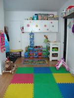 PLaces disponibles dans une garderie privée en milieu familial
