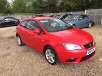 2013 seat Ibiza 1.4 toca 1 owner from new