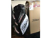 2017 Titleist Stadry Golf Cart Bag Brand New