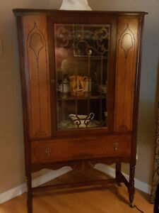 1930s Walnut Buffet and Hutch - excellent condition
