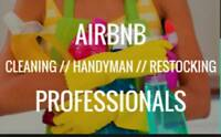Hiring AirBnB Property Manager Cleaning & Guest Service/6 houses