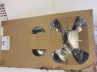 Crane 150 stainless steel sink reversible bran new in the box £15