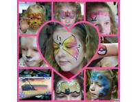 face painting and glitter tattoo by FAIRY ROSE - Falkirk area