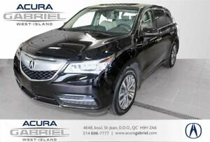 2014 Acura MDX SH-AWD 6-Spd  NAV CUIR+TOIT+NAVI+CAMÉRA+BL