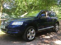 *** Volkswagen Touareg 5.0d v10 1 owner swap px car van ***