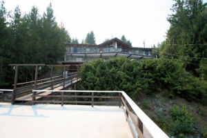 Shuswap Waterfront Home with Lots to Offer