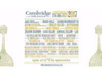 Cambridge Folk Festival - whole weekend standard ticket