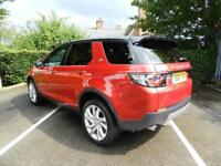 Land Rover Discovery Sport TD4 SE TECH (red) 2017-03-16