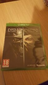 Dishonored 2 Xbox One Game Brand New Sealed