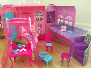 Barbie Princess And The Popstar Playset