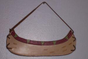 Canot en cuir de 7 pouces Nouveau Prix