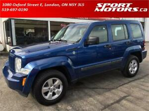2010 Jeep Liberty Sport! Trail Rated 4x4! New Brakes! A/C!