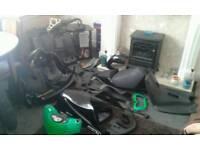 Job lot Moped Parts. All Came Off Aprilia SR 125. Some fit Gillera. (SOLD PENDING)