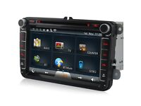 "Volkswagen 8""inch Wifi /Internet Touch Screen Car Dvd Player For VW Passat Golf EOS Polo"