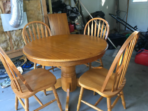 Kitchen table and 4 chairs for sale $150.00
