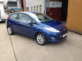 10 PLATE FORD FIESTA 1.2 ZETEC 3DR 40000MILES £4600