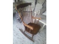 vintage rocking chair... only £30--