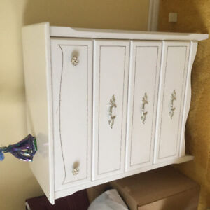 Double dresser and highboy