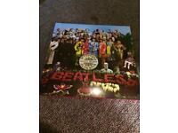 THE BEATLES RECORD LP SGT PEPPERS LONELY HEARTS CLUB BAND MINT CONDITION LP REISSUE