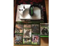 Xbox one s 1TB +games