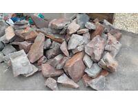 Rockery rocks - Victorian sandstone