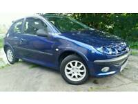 Peugeot 206 verve 2003 reg 1.1.petrol only 44.000 miles no mot spare and repair start and drive