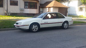 1989 Chevrolet Beretta GT, v6, manual trans, from out west