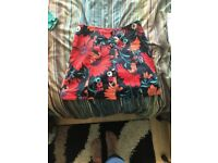 Skirt from topshop size 10 used once