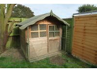 Wooden garden wendy house / play house