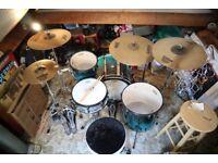 Mapex Full Drum Kit w/Sabian AAX