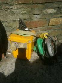 110v transformer and circulae saw