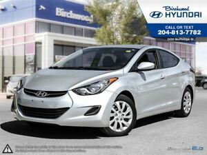 2013 Hyundai Elantra GL *Heated Seats