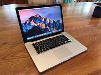 "MacBook Pro, 15.4"", i5 Processor, 8GB Ram, 500GB Hard Drive,WARRANTY Microsoft Office, FREE DELIVERY"