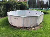 10ft framed pool