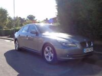 2007 BMW 5 Series 520d SE 2.0 Diesel, Grey 5 Door, Full Service History & Long MOT STUNNING CAR