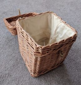 100x New wicker boxes