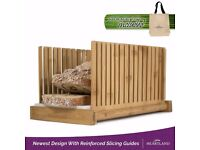 Heartland Deluxe Bread Slicer with Free Storage Tote