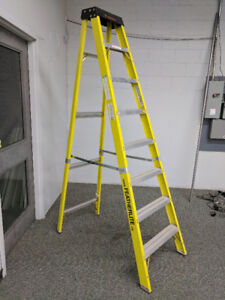 Featherlite Ladder, Mannequins, sewing, grid wall, slat wall