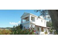Late Cancellation Offer: Private Holiday Villa with Pool in Corfu, Greece. £950 per week!