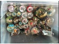 Reduced!!!Snow globes
