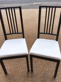 Two Ikea Dining Chairs