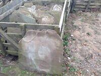 Stone roof slates