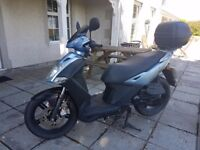 Kymco 50cc Moped 64plate blue
