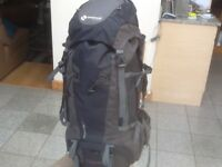 "Brand new/unused Gelert ""Phoenix 55+10"" expansion=65 litre rucksack-pockets,pouches+raincover"